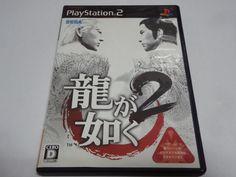 #34 Japan game PS2 Yakuza 2 SEGA  Free Shipping Japanes  anime #SEGA