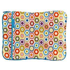 $30.00 Jonathan Adler Laptop Sleeve - Honeycomb