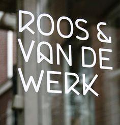Mixed Graphic Design Inspiration Roos & Van De Werk by Taken By Storm Typography Love, Typo Logo, Typography Letters, Typography Inspiration, Typography Poster, Graphic Design Inspiration, Creative Inspiration, Design Ideas, Graphic Design Print
