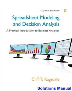 Solution manual for business law and the legal environment 5th solutions manual for spreadsheet modeling and decision analysis a practical introduction to business analytics 8th edition fandeluxe Choice Image