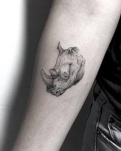Rhino Tattoo by zionele