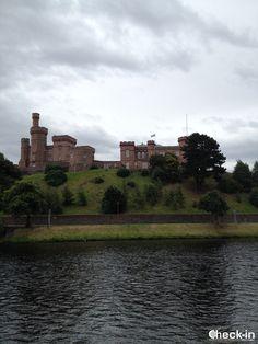 L'ex Castello di #Inverness, oggi sede del Tribunale della capitale delle Highlands, #scozia