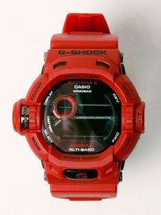 Casio G-Shock oki-ni European Exclusive Tough Solar Riseman GW-9200RDJ Watch