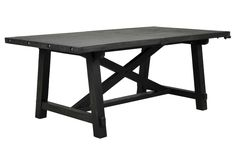 "Jaxon Rectangle Dining Table - goes from 76""-96"""