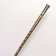 Canne-flûte, début du XXe siècle