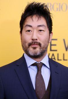 Kenneth Choi  I like his face he looks interesting and fatherly and kind