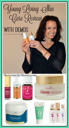 Young Living Skin Care Review With Demos - The Crunchy Moose