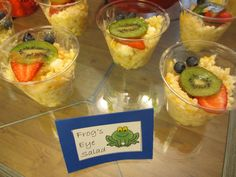 Fruity frog Ambrosia salad