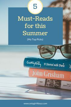Looking for a great Looking for a great book to read? Here are my Top Must- Reads for this summer! They are worth your time & have had a big influence on my life.