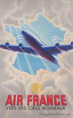 Air France Vers Des Ciels Nouveaux