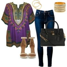 """""""Tswana designs Dashiki how to..........."""" by introducing-neo on Polyvore"""