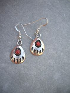 This Item Is Unavailable Bear Pawscow Jewelryc Earringsturquoise