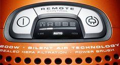 electrolux-ultraone-vacuum control back lit LED