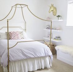 Canopy w ceiling curtain rods | Girlu0027s fashion u0026 bedroom | Pinterest | Ceiling curtain rod & Canopy w ceiling curtain rods | Girlu0027s fashion u0026 bedroom ...