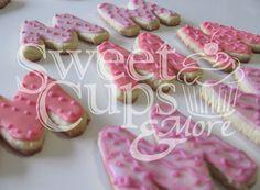 Cookies M para el 1º Añito de Michelle