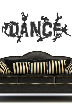 Break Dance 3 Wall Decal by WALLTAT.com