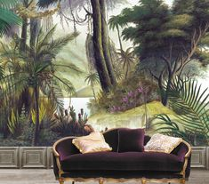 Amazingly detailed and realistic designer wallpaper. Create maximum impact with a mural style wall.