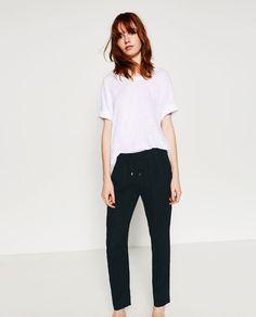 Imagine 3 din PANTALONI DE IN de pe Zara