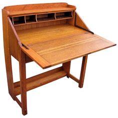 """Superb """"Charles Limbert"""" Drop Front Desk w3078"""