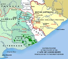 South African English, Cape Colony, What Is Today, Xhosa, Port Elizabeth, National Art, Tourist Information, British Colonial, African History