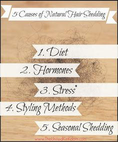 5 CAUSES OF NATURAL HAIR SHEDDING Best Natural Hair Products, Natural Hair Care Tips, Natural Hair Styles, Natural Haircare, Natural Skin, Make Hair Curly, How To Make Hair, 4c Hair, Hair Facts