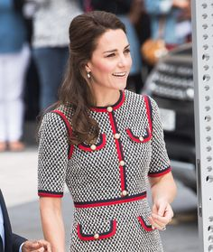 Kate Middleton helped to unveil a new museum development, and she dressed the part of artistic royal to do it. See her full look here.