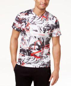 VERSACE Versace Jeans Men's Graphic Print T-Shirt. #versace #cloth #