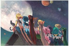 "densetsu-sailor-moon: "" Sailor Moon by KRMayer """