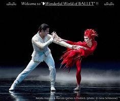 ❥Natalia Osipova  Marcelo Gomes in Firebird, (© Gene Schiavone) https://www.facebook.com/groups/W.W.Ballet/