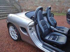 Porsche Boxster 986 interior