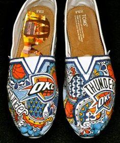 OKC Thunder, Custom designed Toms