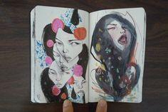 stella im hultberg sketchbook