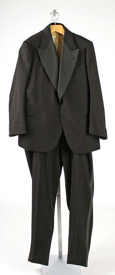 Tuxedo. British 1930