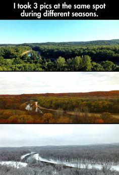 3 pics at the same spot…