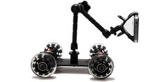 Pico Flex Skater Dolly DSLR Camera Floor Table Dolly Video Slider