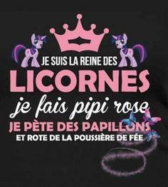 #attitude de licorne