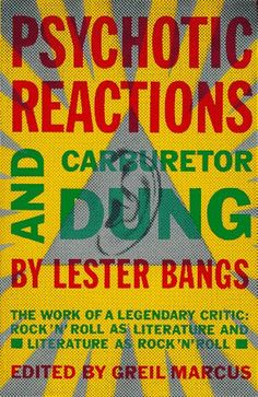 Where rock criticism started - with Lester Bangs.