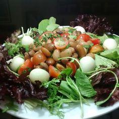 Salada de favas ...