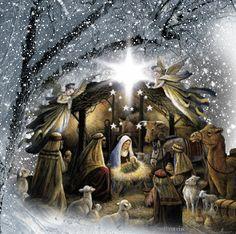 christmas night jesus gif - Google Search