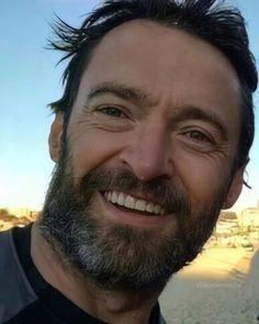 Hugh Michael Jackman, Hugh Jackman, Laughing Man Coffee, Australian Actors, Sports Celebrities, Almost Perfect, Gorgeous Men, Beautiful, Wolverine