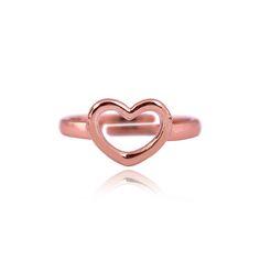 Tatiana rose gold plated ring
