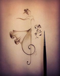 Painting & Drawing, Watercolor Paintings, Coastal Wreath, Illumination Art, Drawing Challenge, Mini Tattoos, Animal Tattoos, Animal Design, Pattern Art