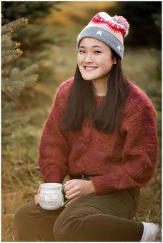 Elisabeth Anne Photography - North Canton OH Senior Photographer Winter Senior Pictures, Senior Photos, Senior Portraits, Akron Ohio, Cleveland Ohio, North Canton, Stark County, Senior Posing, Christmas Tree Farm