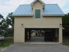 Favorite places spaces on pinterest garages craft for Drive through garage