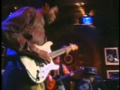 A young Robert Cray with the legendary John Lee Hooker - Mr. Lucky