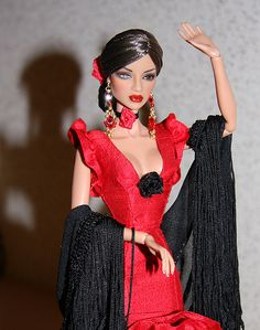 Flamenco: OOAK Natalia FR by idrusa ♥ SineVoce ♥, via Flickr