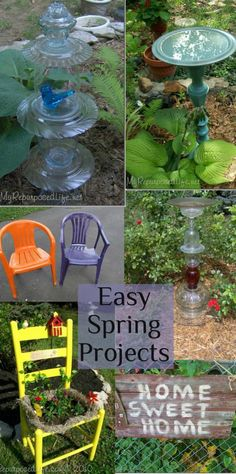 My Repurposed Life--15+ Spring Projects