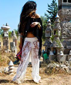 madame de rosa pants, zara t-shirt diy, de cos sandals, las dalias bag, prada sunglasses. 7/9/12