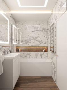 White Marble Bathrooms, Modern Bathroom Tile, Bathroom Design Luxury, Minimalist Bathroom, Modern Bathroom Design, Small Bathroom, Small Toilet Room, Master Bedroom Bathroom, Bathroom Design Inspiration