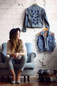 FashionCoolture - 18.11.2015 look du jour denim Gap Pandora bracelets (8)